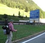 Brennerautobahn beim Goetheweg