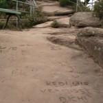 Hedi wird vermisst auf dem Dahner Felsenpfad