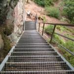 Wachtfelsen auf dem Dahner Felsenpfad