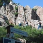 Gipfelanste3ig bei der Litermont-Gipfeltour
