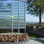 Losheimer Felsenweg, Startschild Waldhölzbach