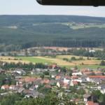 Blick auf Losheim auf dem Oppig-Grät-Weg