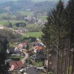 Schluchtenpfad Blick auf Rissenthal