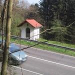 Rennstrecke auf dem Schluchtenpfad bei Rissenthal