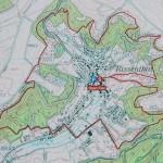 Schluchtenpfad bei Rissenthal; Wegetafel