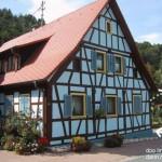 Fachwerkhaus in Hirschthal