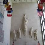 St. Avold, amerikanischer Soldatenfriedhof, Innenraum