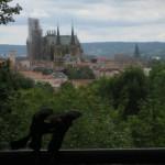 Metz, Kathedrale, Fernwanderungen Frankreich
