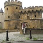 Metz, Deutsches Tor, Fernwanderungen Frankreich