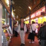 Metz, Markthalle, Fernwanderungen Frankreich