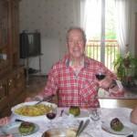 Gravelotte, Mittagessen, Fernwanderungen Frankreich
