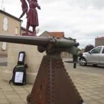 Tronville, Jeanne d'Arc, Denkmal