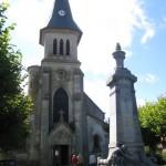 Manheulles, Kirche, Fernwanderungen Frankreich