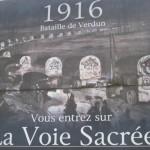 Verdun, La Voie Sacree