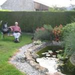 Fernwanderungen in Frankreich; Rast a la ferme