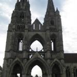 Soissons, Abbaye de Saint Jean, la fassade