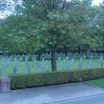 Fernwanderungen in Frankreich; Soldatenfriedhof