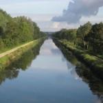 Fernwanderungen in Frankreich; Canal de la Somme