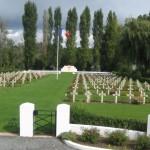 Fernwanderungen in Frankreich, Bourdon, Soldatenfriedhof