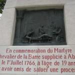 Fernwanderungen in Frankreich; Martyre Memorial, St. Valerie sur Somme