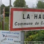 Fernwanderungen in Frankreich; Hotes bei La Halte/France