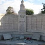 Fernwanderungen in Frankreich, Cayeux sur Mer, Kriegerdenkmal