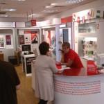 Plymouth, schlechter Vodafone-shop