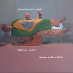 London, Brazil - Germany, 28 Juni 2014, Fußballweltmeisterschaft