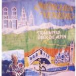Plakat vom Goetheweg München - Venedig