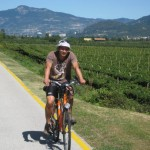 Goetheweg südlich Trento