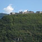 Goetheweg im Tentino mit vielen Burgen an der Etsch