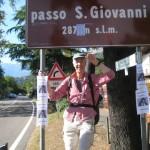 Passo San Giovanni, auf dem Goetheweg zwischen Etsch und Gardasee
