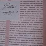 Malcesine am Gardasee mit Goethe als Spion
