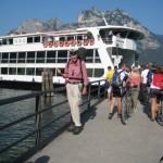 Schiff Brennero am Gardasee