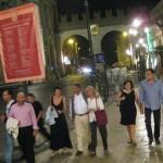 Verona, heimwärts von der Arena mit Theatro
