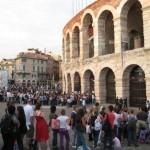 Verona mit der Arena und Theatro