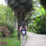 Padua mit dem botanischen Garten