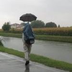 Brenta-Kanal am Goetheweg vor Venedig