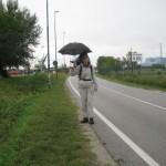 am Ende vom Goetheweg, Einlauf nach Fusina