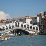 Venedig mit der Rialtobruecke