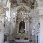 kapelle schloss mentlberg altar