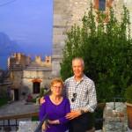 'Wanderhans nebst Gattin bei der Nachtour in Malcesine am Gardasee