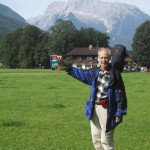 Start in Schönau am Königssee vorm Hochkalter