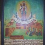 in Altötting in der Wallfahrtskapelle ist ein großes Gnadenbild