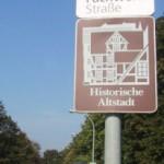 Mühlhausen mit der historischen Altstadt