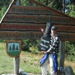 Nationalpark Harz mit Wandermusikant
