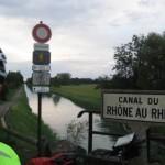 der Rhone-Rhein-Kanal verbindet das Mittelmeer mit der Nordsee; echt!