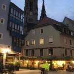 Mulhouse au nuit, bei Nacht