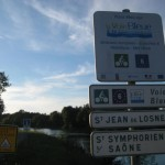 """""""Eurovelo 6""""; Atlantik - Schwarzes Meer an der Saone"""