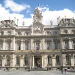 """Lyon mit dem imposanten """"hotel de ville"""""""
